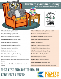 Kent Free Library Reading List