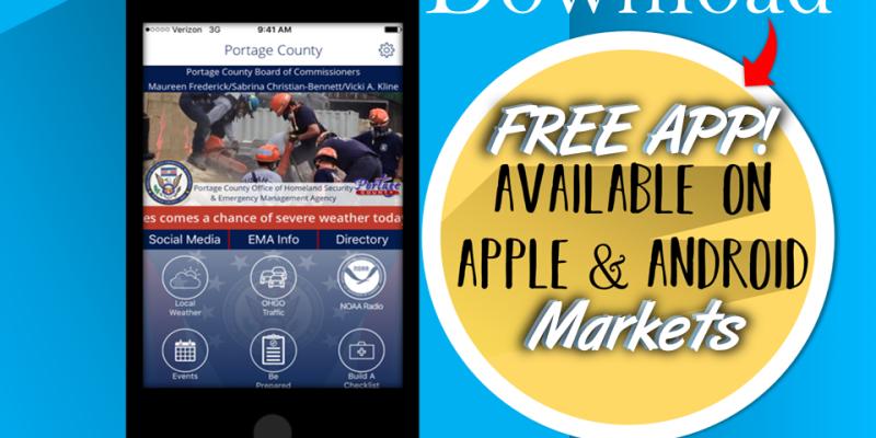 Portage County EMA App
