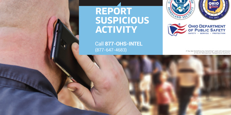 Portage County & DHS Partners for See Something, Say Something