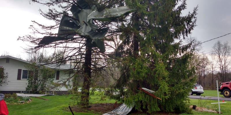 Straight Line Wind Damage, Weather Events in Portage County