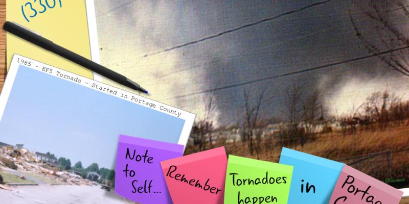 Portage County Tornado History